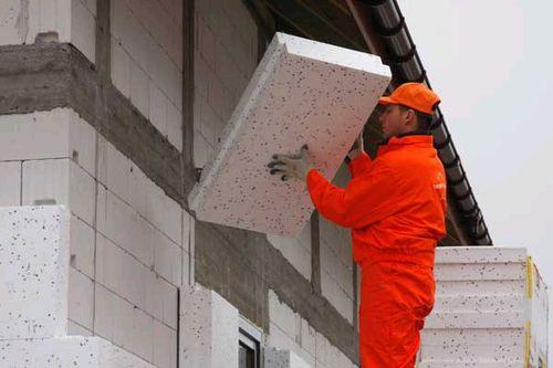 Работы по утеплению фасадов краснодар