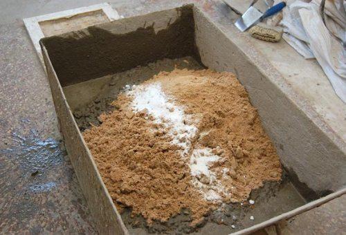 Готовим цементный раствор для штукатурки